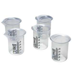 Bresle Beakers for use with the Bresle Patches in the Bresle Patch Test