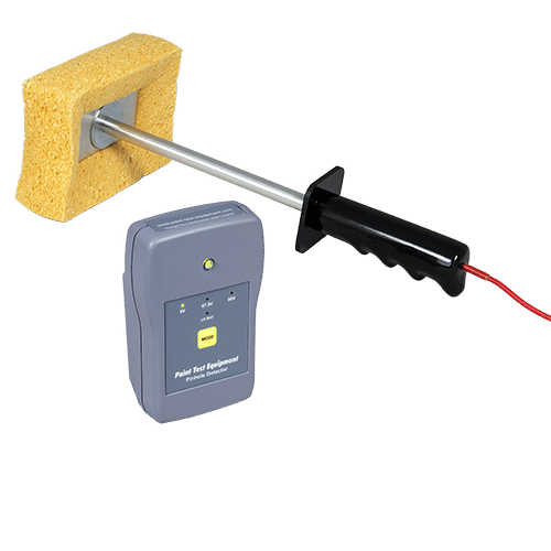 Pinhole Detector for detecting pinholes and flaws in coatings on conductive substrates